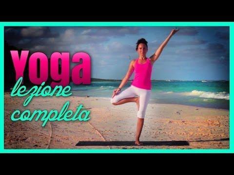 ▶ Yoga - Pronti per l'Estate - Lezione Completa - YouTube