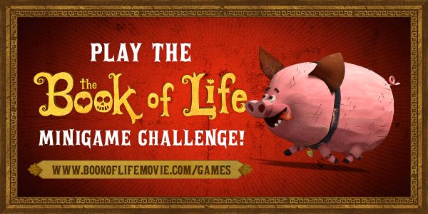 The Book of Life Trailer, MiniGame and More #BookofLife