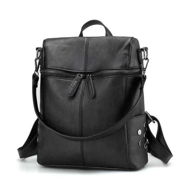 Women's Simple School Backpack