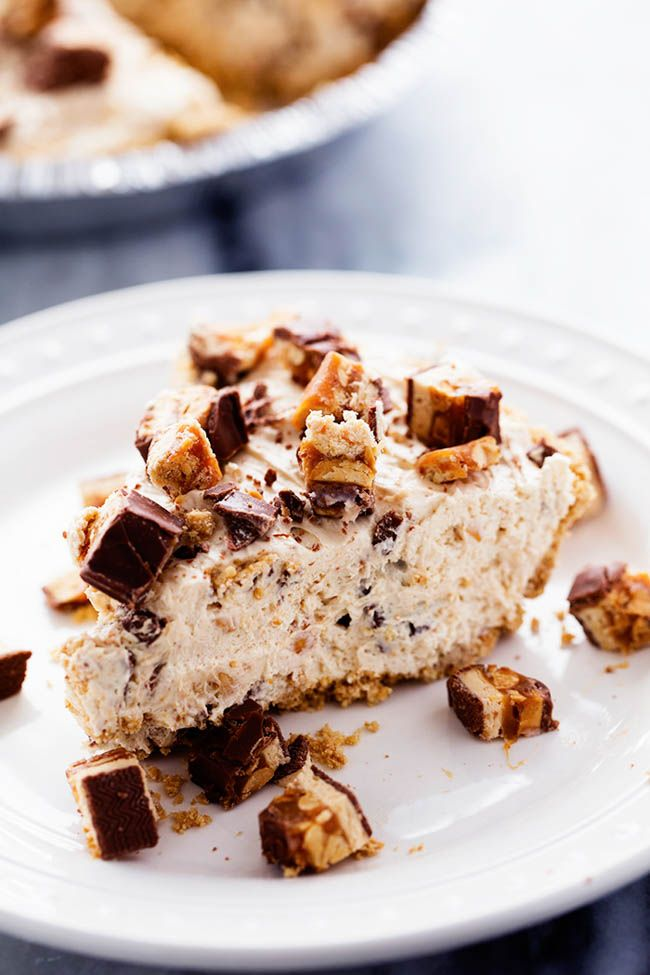 No Bake Snickers Bar Pie is one of the easiest and most delicious no bake pies that you make.  You will love the snickers pieces in every bite! I used to hate chocolate.  I know.  Crazy.  It was the Snickers Bar that broke me of my hate for chocolate. I was 16 years old.  Yep. …