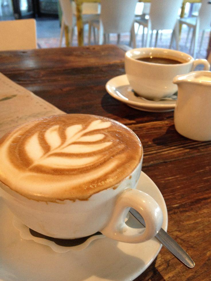Cappuccino at Vovotelo cafe bar