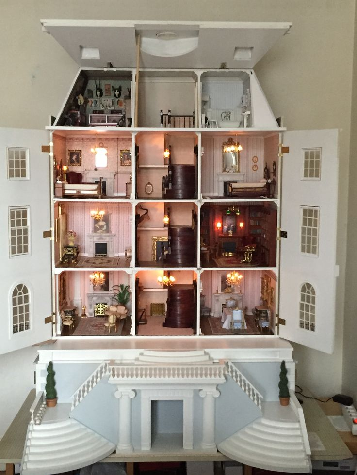 My Grosvenor Hall Dollhouse Grosvenor Hall Pinterest