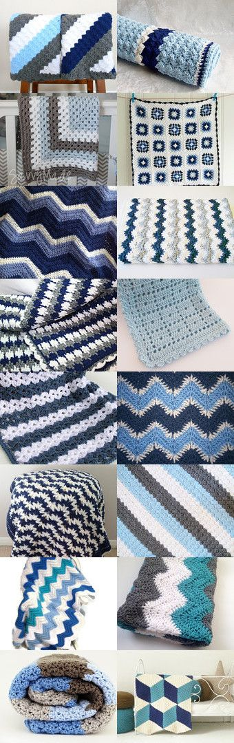 maRRose - CCC: Treasury Tuesday, Crochet Blankets by Marianne Dekkers-Roos on Etsy