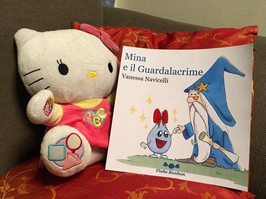 In buona compagnia! ;) #MinaEIlGuardalacrime #libri #fiabe #bambini #NonSoloBambini ;) http://vanessanavicelli.com/mina-guardalacrime/