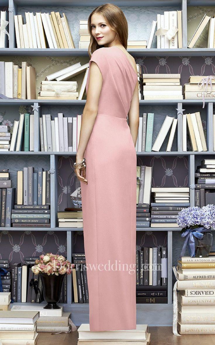 Hermosa Vestidos De Dama De Envoltura De Giro Imagen - Colección de ...