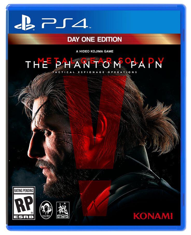 A la venta Metal Gear Solid V: The Phantom Pain para PS4