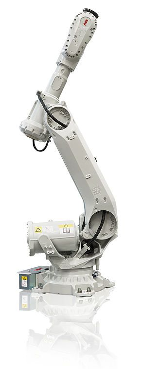 6 axis articulated robot by ABB #Robotics. #Industrial machines and equipment on #DirectIndustry