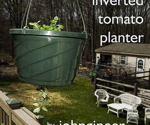 Inverted Tomato Planter DIY