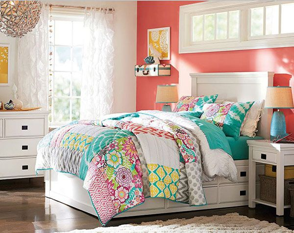 20 Bedroom Paint Ideas For Teenage Girls: