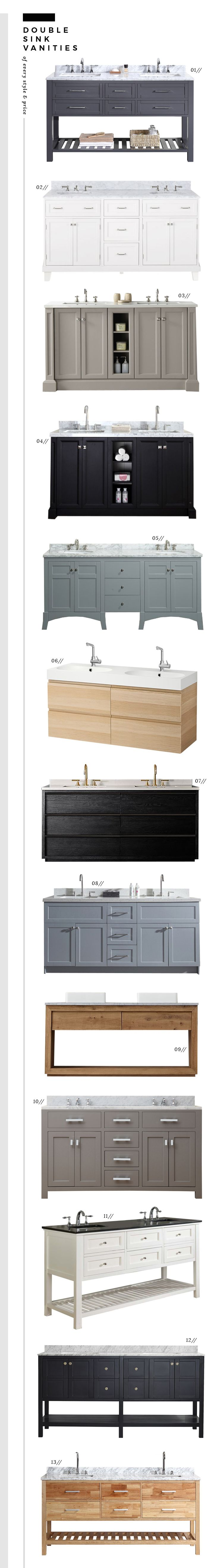 Double Bathroom Sinks 17 Best Ideas About Double Sink Bathroom On Pinterest Double