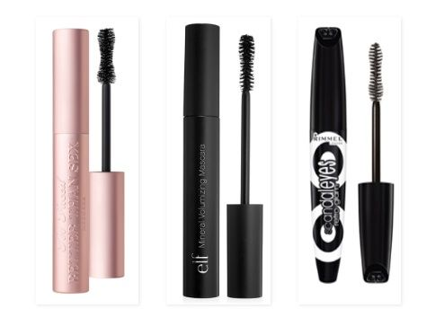 The first dupes on the list is for an amazing mascara I've recently started using. I immediately fell in love with Too Faced's Better Than Sex Mascara, and quickly began my hunt for a lower-priced mascara with the same effect. I found two mascaras with similar brushes and formulas that I think are pretty good dupes for 'Better Than Sex'. They are the e.l.f. Mineral Volumizing Mascara and the Rimmel Scandaleyes Retro Glam Mascara.