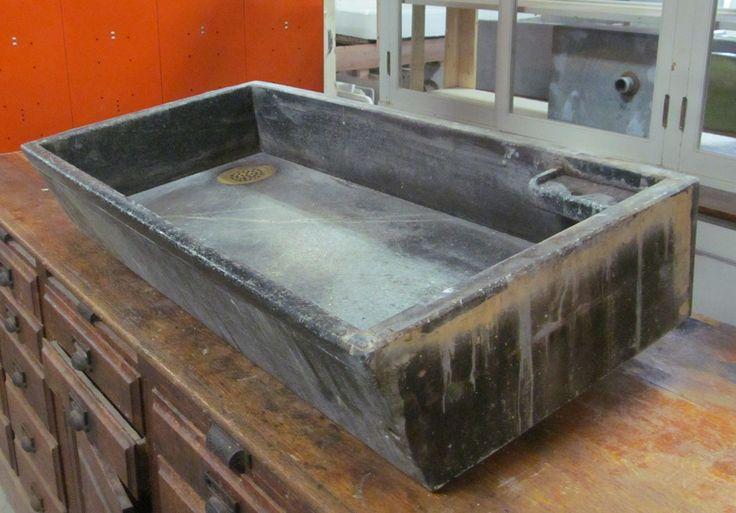 Boalder Lodge Vintage Soapstone Sink Silver Lining Farm Vermont