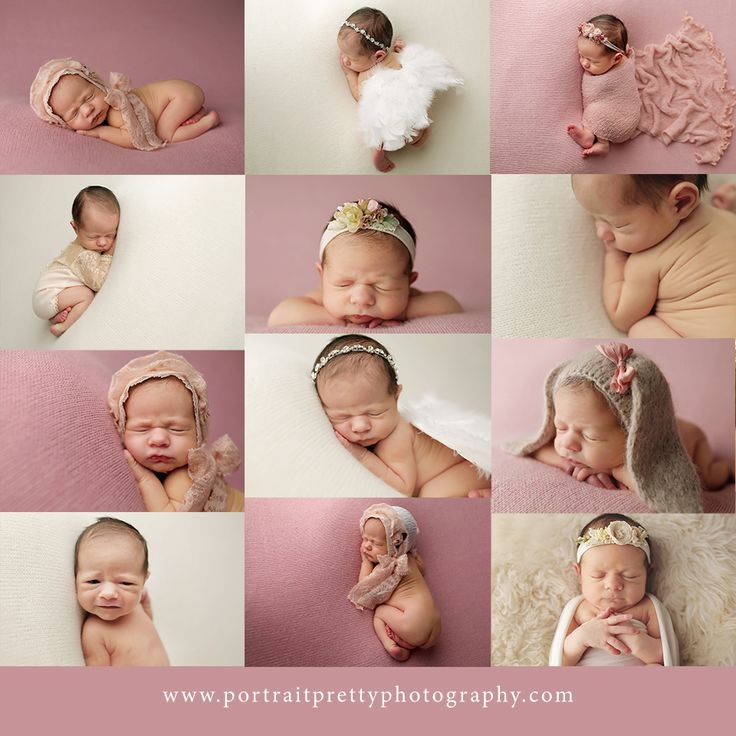 Buffalo ny newborn photographer portrait pretty pink baby girl buffalo ny newborn photographers newborn poses