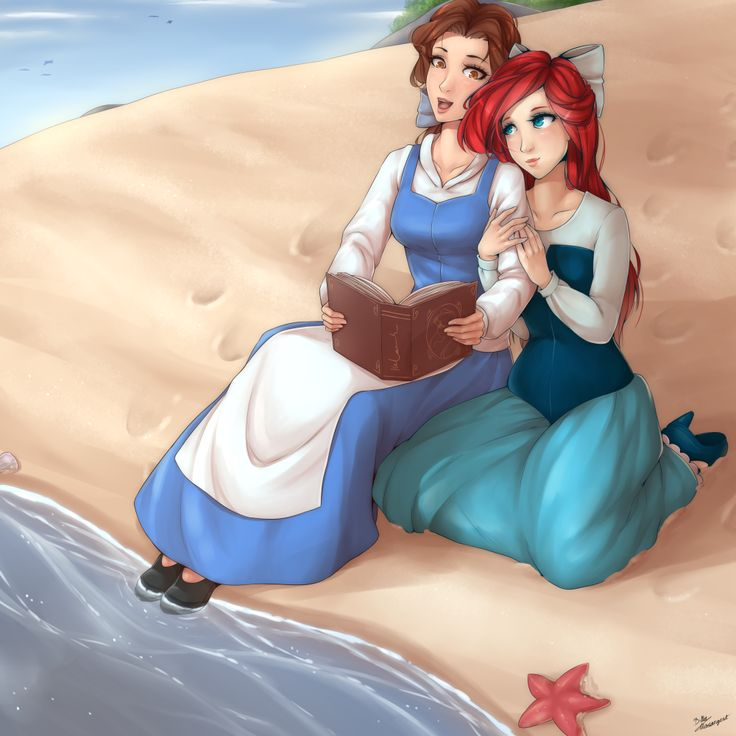 Disneys ariel and belle porn