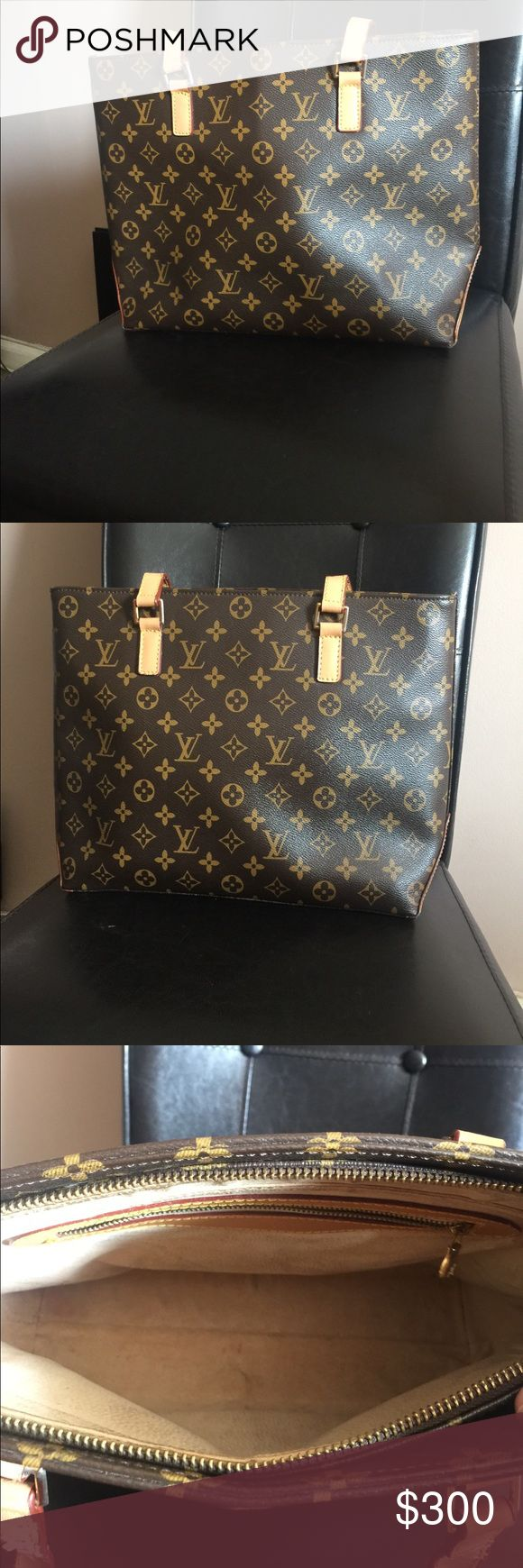 Authentic Louis Vuitton handbag Very nice and comfy Louis Vuitton handbag. A few blemishes inside and on straps. Otherwise in good condition. Smoke free and pet free home. Have to many bags and have to down size. Louis Vuitton Bags Shoulder Bags