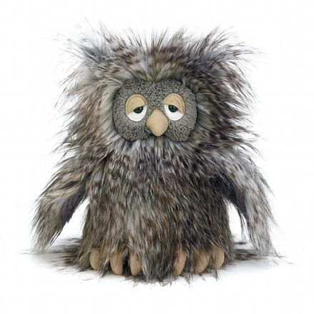 Orlando Owl (I know I'm too old to want a stuffed animal. But if I could get a real owl that looked like this, it'd be problem solved. :P)