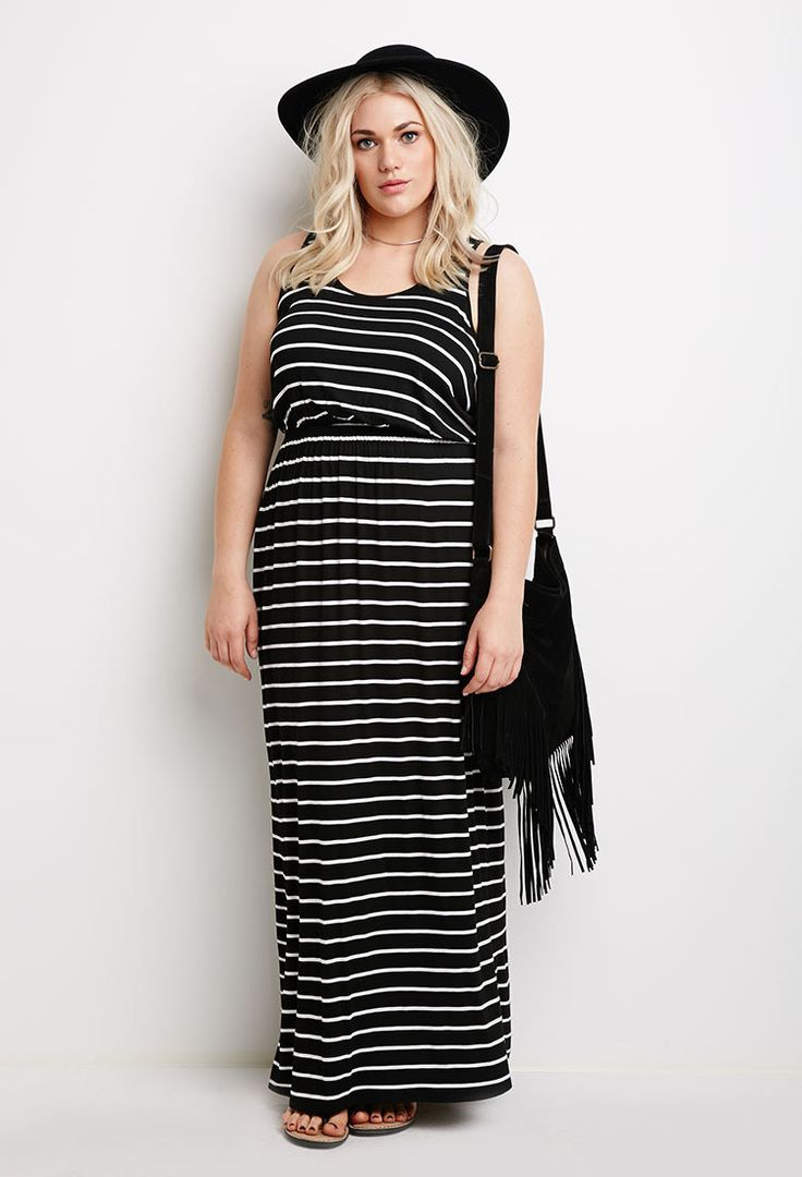 Striped Maxi Dresses Forever 21 And Forever 21 Plus On