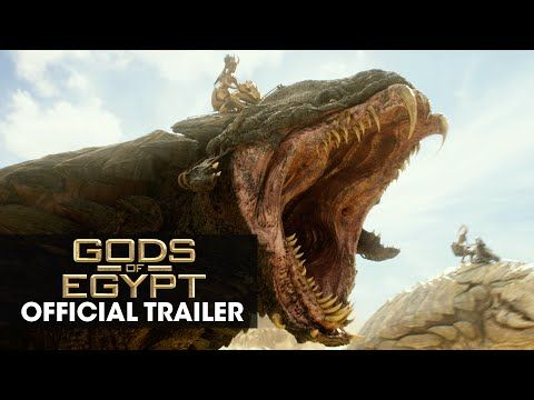 "Lionsgate Movies: Gods of Egypt (2016 Movie - Gerard Butler) Official Trailer – ""Battle For Mankind"""