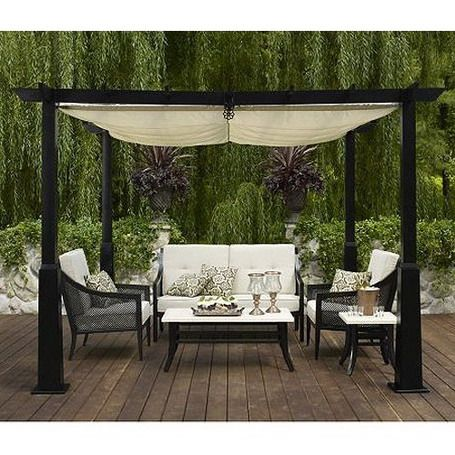 85 best patio deck coverings images on pinterest | backyard ideas ... - Patio Canopy Ideas