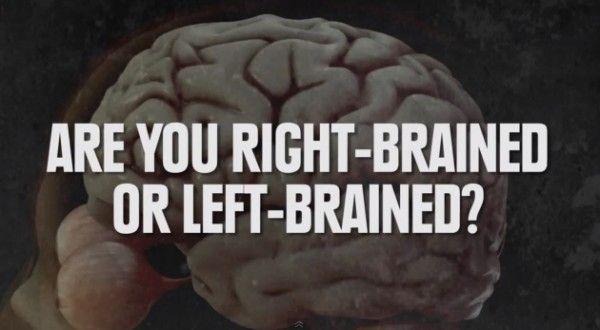 ВИДЕО: Как определить, какое полушарие мозга у вас доминирующее - левое или правое - http://lifehacker.ru/2013/12/11/video-are-you-left-brained-or-right-brained/