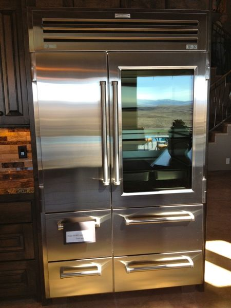 best 20 see through refrigerator ideas on pinterest glass front refrigerator kitchen stove. Black Bedroom Furniture Sets. Home Design Ideas