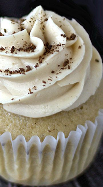 Coffee Cupcakes with Coffee Cream Cheese Frosting Recipe ~  Delicious is an understatement when it comes to these cupcakes.