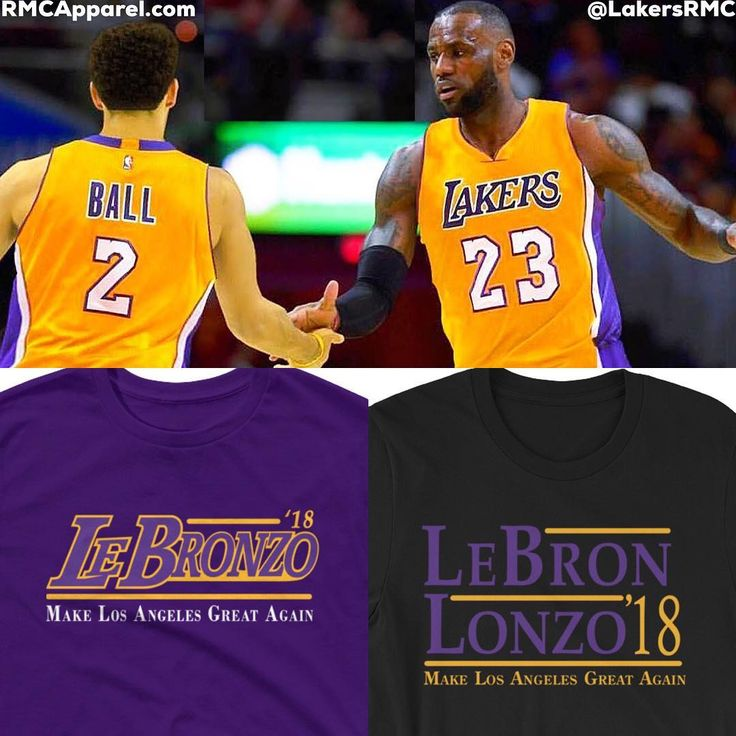 According to reliable sources its going to come down to the #Lakers #Cavs #Sixers and #Rockets for #LeBronJames. - Well we say bring #KingJames to Los Angeles with #LonzoBall and the rest of the crew! - Support #LABron & #LeBronZo now with this  apparel to help bring the King to LA! Available now in 10 colors at RMCApparel.com (LINK IN BIO)