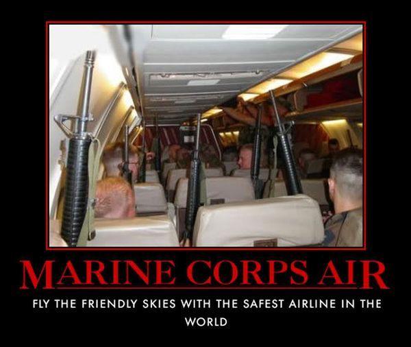 Marine Corps Air - Military humor                                                                                                                                                     More