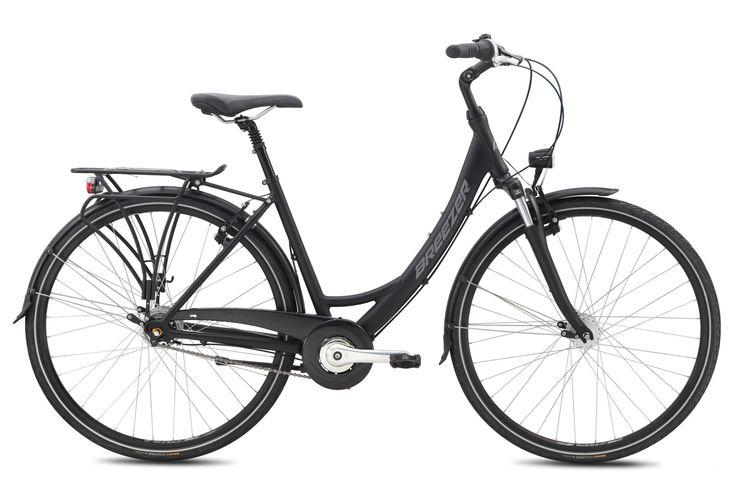 Vélo de Ville Femme Breezer UPTOWN - Shimano Nexus 8V Noir 2015 | Alltricks.fr