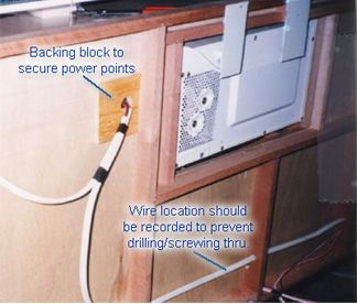 Article by Peter Smith - Caravans Plus - Traditional electrical installation Guide