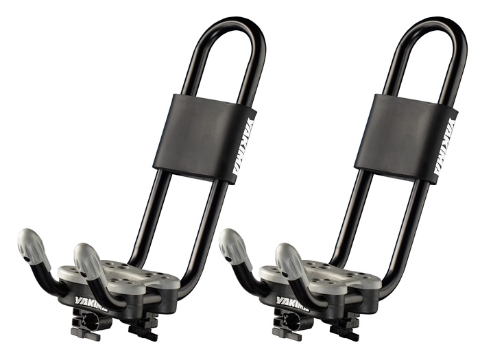 for teh price conscious the #yakima Hullraiser fits either a round or square bar rack system. #hitchngear