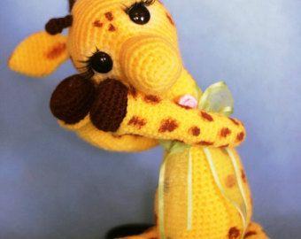 Elfin Thread- Josephine, the Giraffe PDF Amigurumi Pattern (Giraffe crochet pattern)