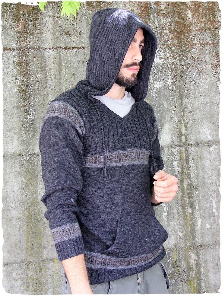 maglia Unisex con cappuccio Celtico #Maglia con #cappuccio. #disegno geometrico per questo maglione in #stile #etnico. Due comode #tasche completano il #caldo #maglione in #lana #alpaca. - See more at: http://www.lamamita.it/store/abbigliamento-invernale/2/maglioni/maglia-con-cappuccio-celtico#sthash.KaFF9ZEO.dpuf