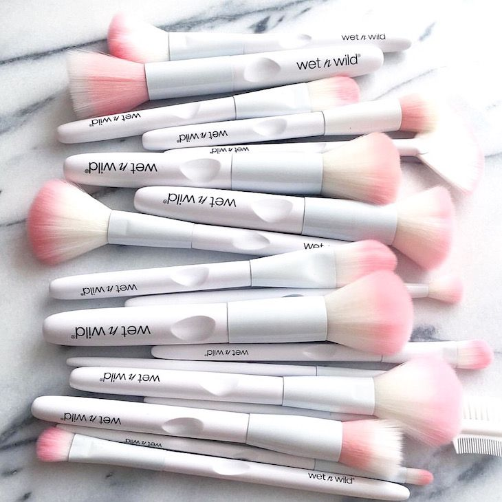 Wet n Wild New Brushes! Have You Tried Them Yet?  I Only Own 2 And I Need Some More! Super Affordable, Great Quality, And Cute! Image Source: Slave2Beautyy