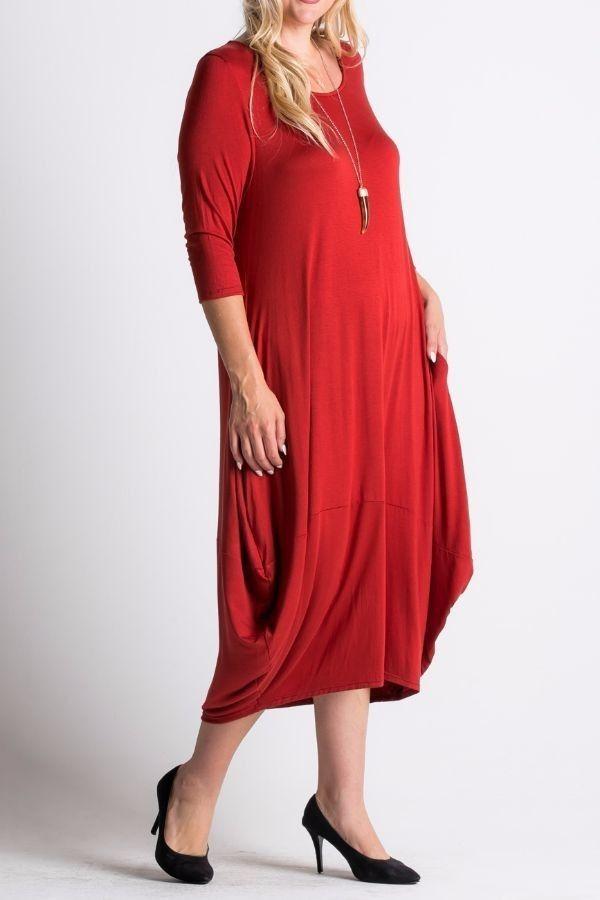 Длинное платье большого размера с карманами цвет рыжий Длинное повседневное платье с драпировкой и рукавом 3/4, круглый вырез горловины, свободный покрой, карманы по бокам платья. https://www.fashionusa.ru/upakovki/dlinnoe-platie-bolshogo-razmera-s-karmanami-3143plus