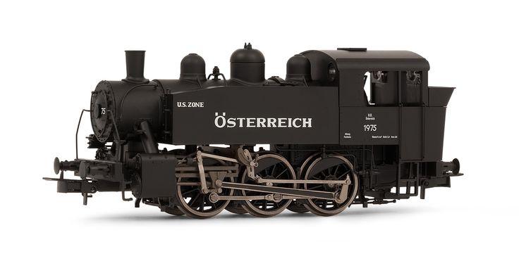 ÖBB, shunting steam locomotive, road number 1975