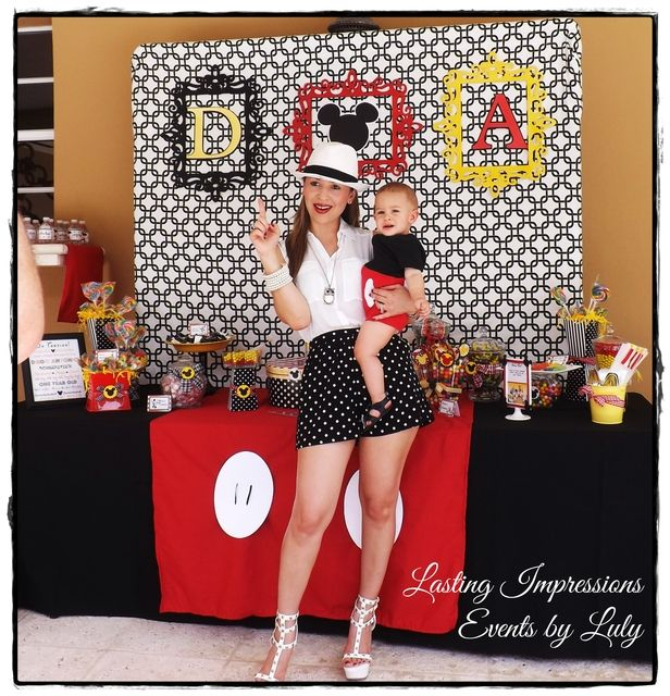 Mickey Mouse Birthday Party Ideas | Photo 6 of 57 | Catch My Party