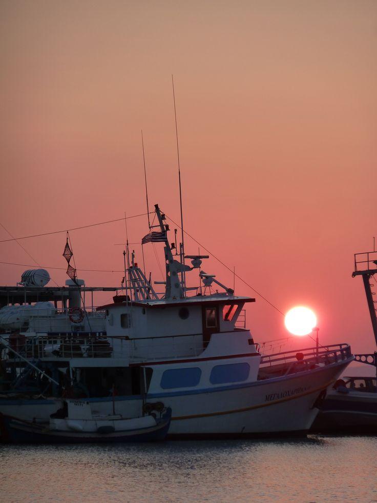 Paralia, little port, Naxos Xora