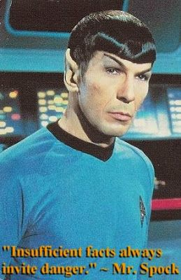 Star Trek Spock quote
