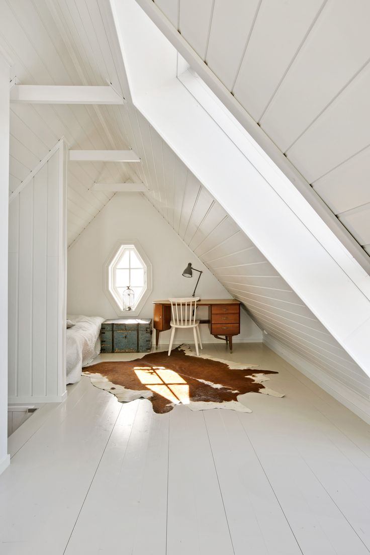 Attic design ideas interior example of - Attic Spaces