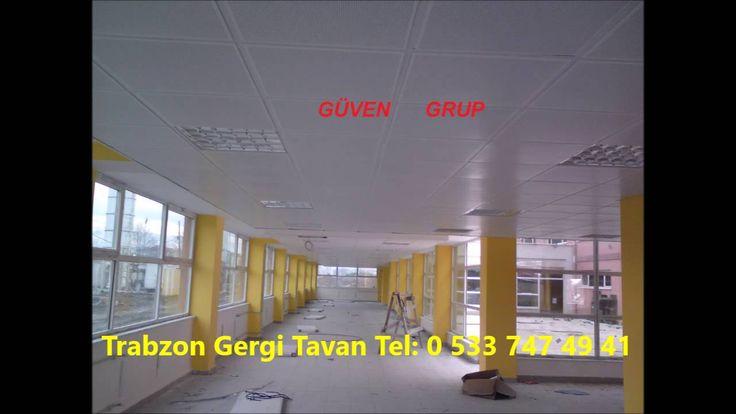 Trabzon Gergi Tavan   Trabzon Asma Tavan   Asma Tavan Modelleri   Trabzo...