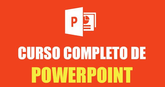 Completo curso de PowerPoint gratis, para aprender a crear presentaciones con este programa.