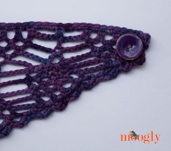 Best 22 Bufandas de crochet images on Pinterest | Bufandas de ...