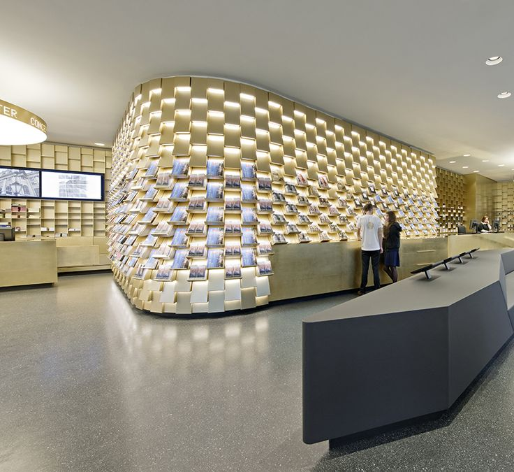 Vienna Tourist Center Designed to Reflect City's Sense of Invitation and Artistry — KNSTRCT - Carefully Curated Design News