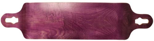Decks 165944: Longboard Deck Double Drop Down + Through 9.75 X 41.25 Purple Concave Maple -> BUY IT NOW ONLY: $39.95 on eBay!