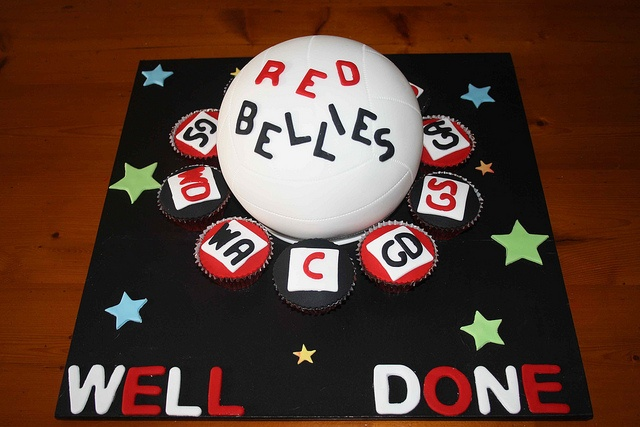 Netball cake by Michelle Ward, via Flickr