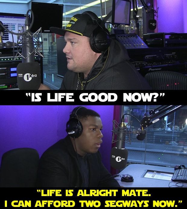 19 Signs That John Boyega Is Enjoying Being In