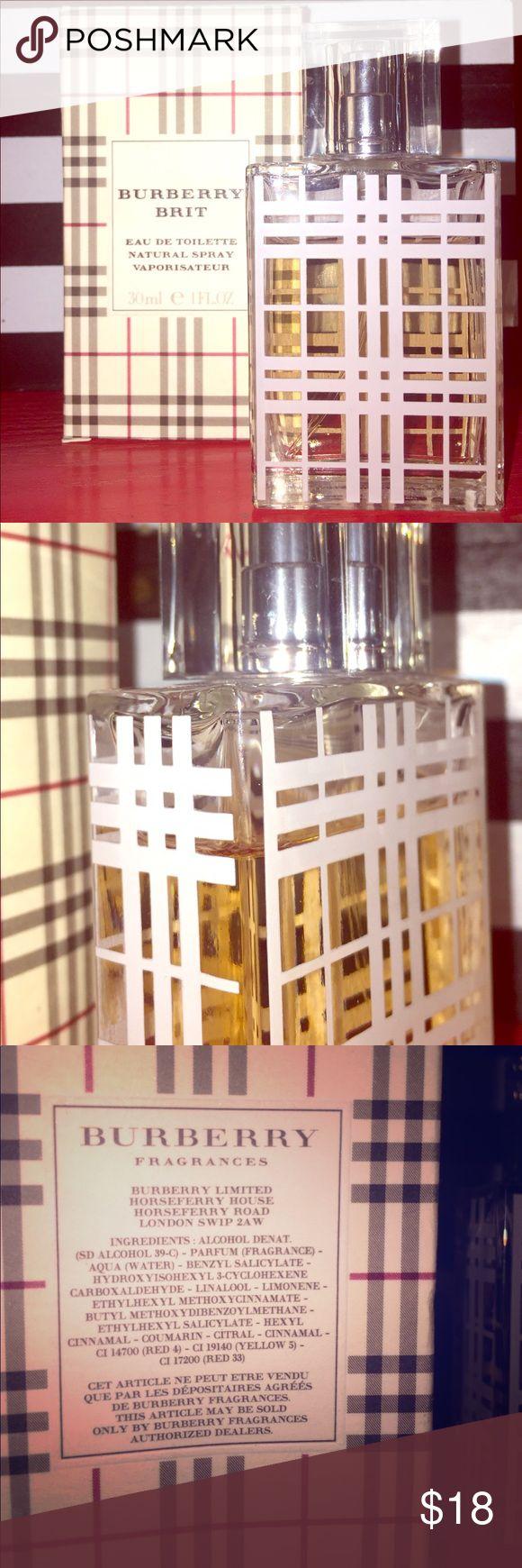 BURBERRY BRIT 30 ml Fragrance Perfume Burberry Brit fragrance with box. Used once. 30 ml Burberry Other