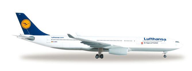 """1/500 Herpa Lufthansa """"Eintracht Frankfurt"""" Airbus A330-300 Diecast Model"""