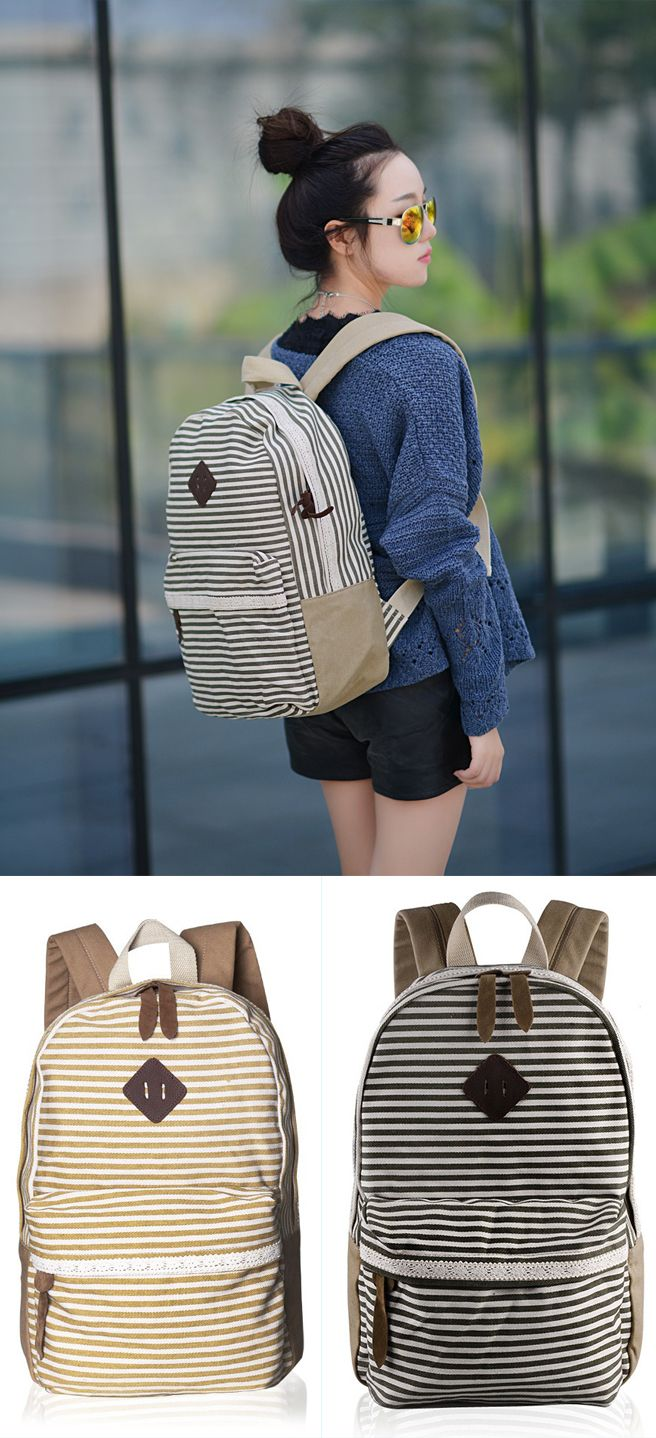 2017 Fresh Striped College Backpack Canvas Lace College Rucksack backpack men fashion,backpack men fashion style,backpack men fashion canvases,backpack men's laptop,school bags,school bags tote handbags,school bags tote style,school bags for teens,school bags for teens backpacks,school bags for teens backpacks student,school bags for teens backpacks black,school bags for teens backpacks casual,school bags for teens backpacks vintage,school bags for teens handbags,school bags for teens…